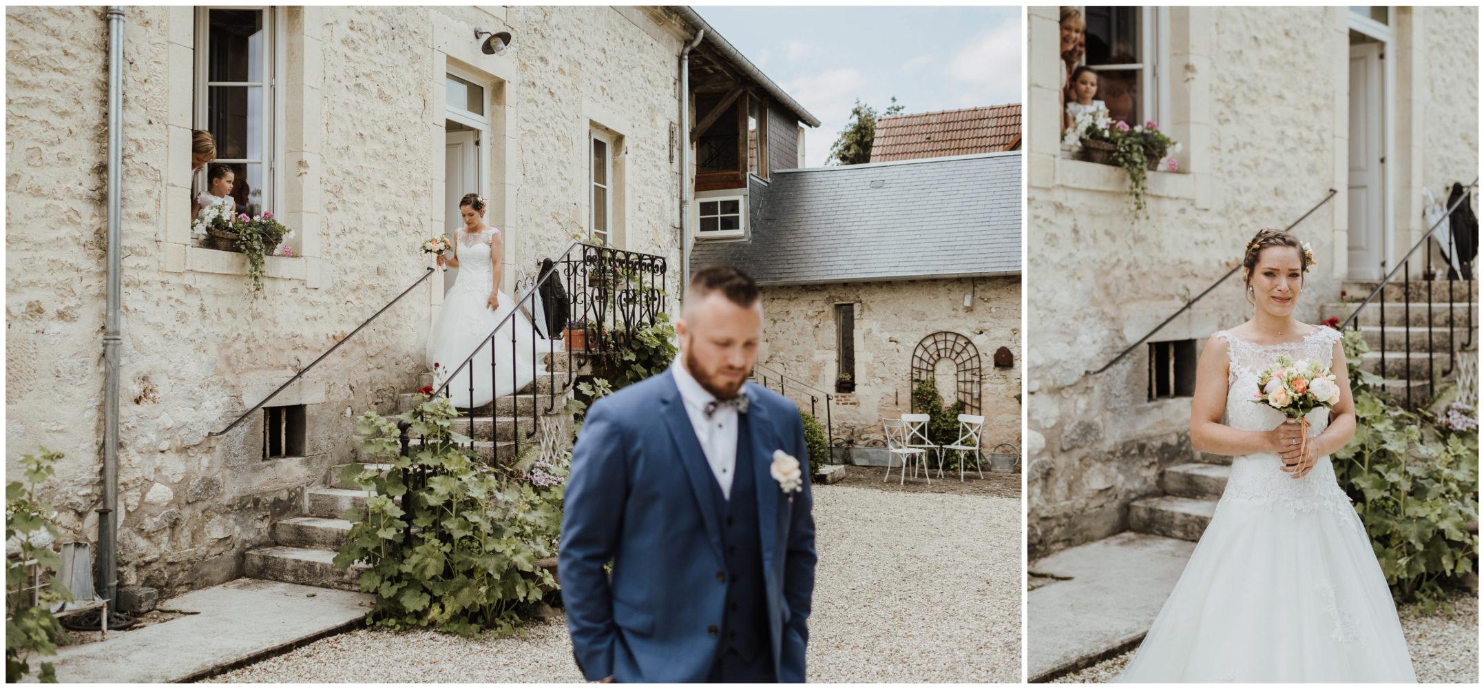 photographe mariage marne clos de la robe