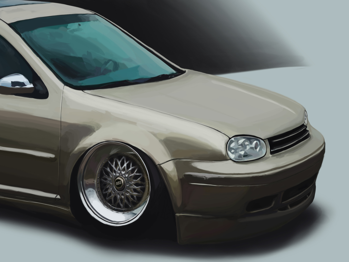 hight resolution of  vw golf gti mk4 scerogrey cgsociety