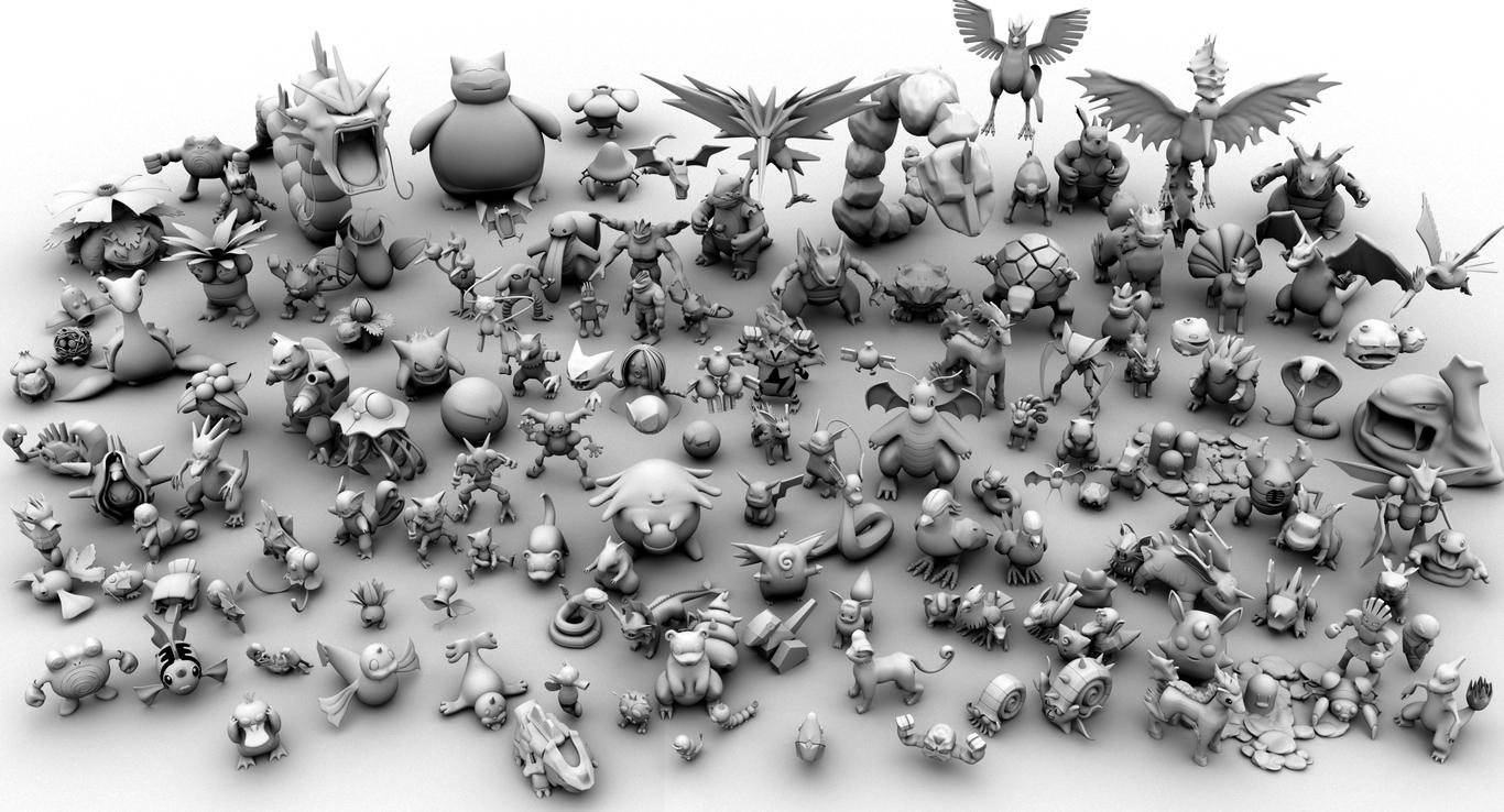 all 150 pokemon 1st