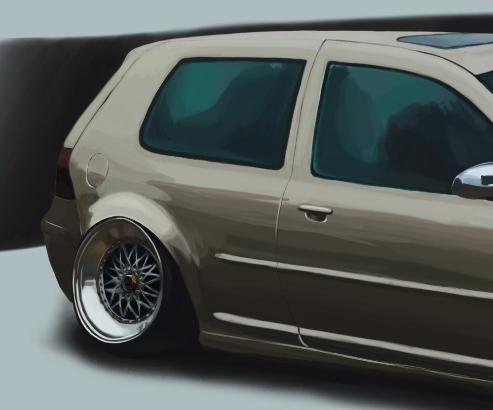medium resolution of  vw golf gti mk4 scerogrey cgsociety