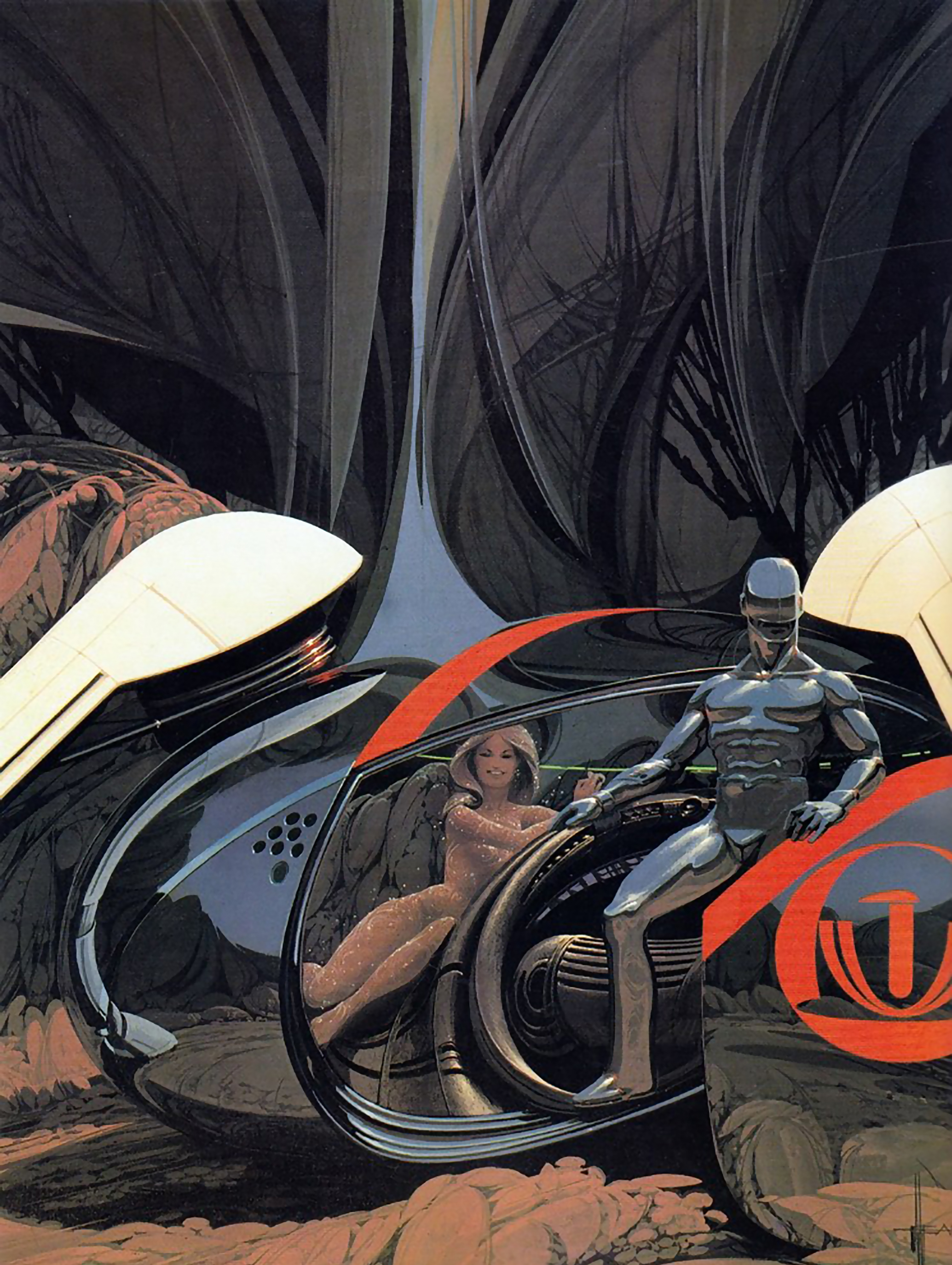 Syd Mead Concept Art : concept, Directors, Guild, Honor, Article, CGSociety