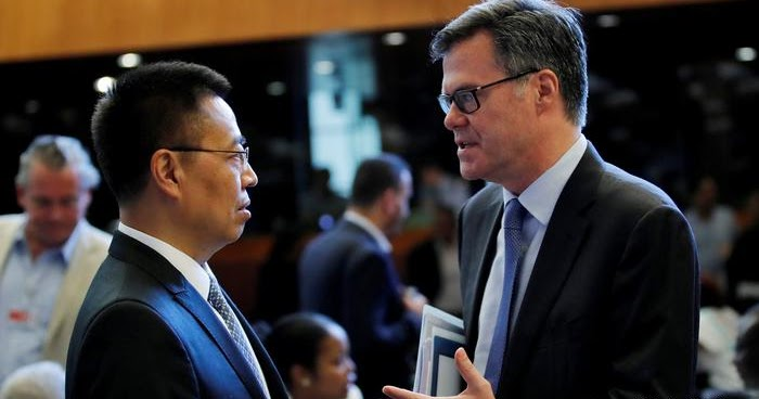 U.S. and China clash at WTO over ideology, state's role