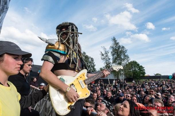 Green Jellÿ #25-Sweden Rock 2019-Diane Webb