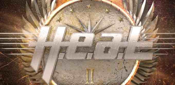 H.E.A.T - H.E.A.T II ALbum Front