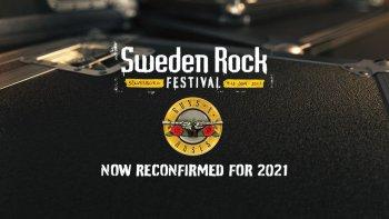 SWEDEN ROCK Reconfirm Guns N' Roses