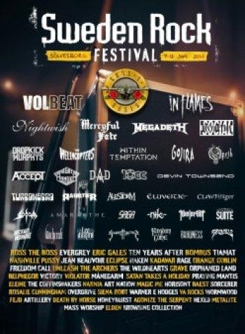 SWEDEN ROCK FESTIVAL 2021 ANNOUNCE 82 BANDS (News)