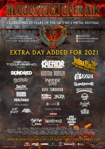 Bloodstock Poster March 23 The Wildhearts And More!