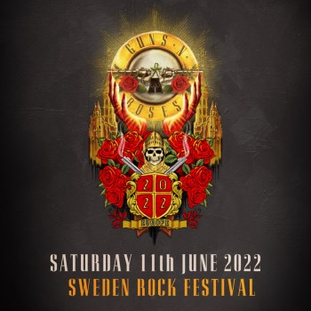 GUNS N ROSES Re-confirm Sweden Rock 2022 (News)