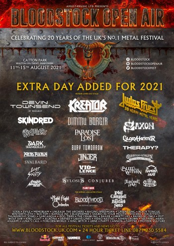 Bloodstock: Latest Poster: 5 New Bands Added