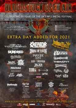 Bloodstock Metal Festival: Latest Poster