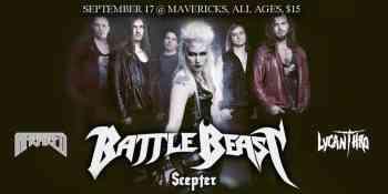 Battle Beast - Ottawa 2019