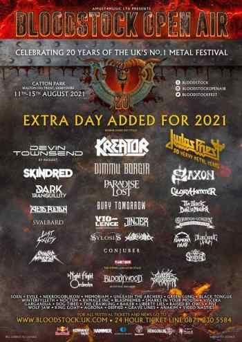 BLOODSTOCK: New Announcements (Festival News)