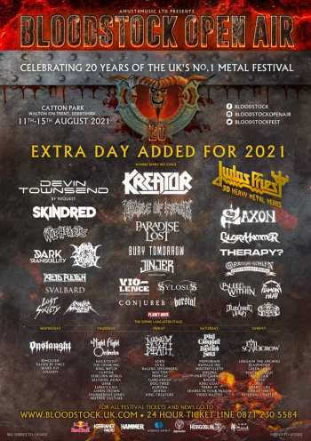 BLOODSTOCK: Alterations And New Band Announcements (Festival News)