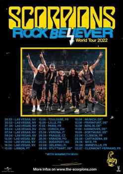 SCORPIONS - Rock Believer (February, 2022)
