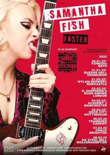 Samantha Fish UK Tour 2022