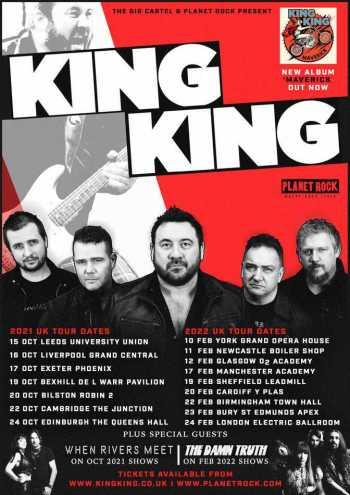 King King Tour Poster