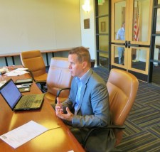 CGCOA Executive Director Marc Connerly at the CGCOA Board meeting at Poppy Hills Golf Course on July 28.