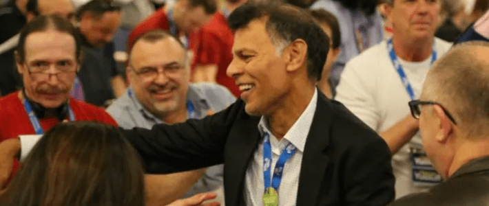 No apologies: Hassan Yussuff faces down his critics as he retires as leader of Canadian Labour Congress