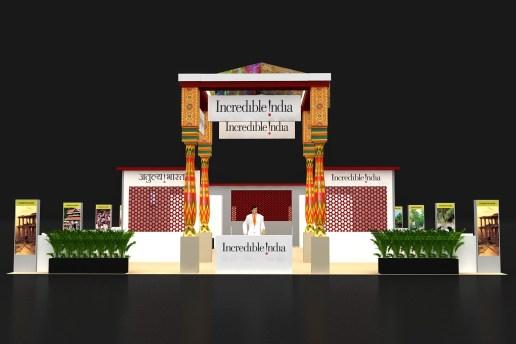 india pavalion1, fitur,2014
