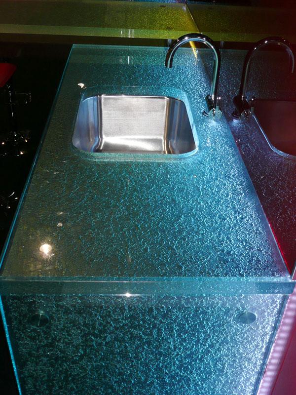Glass Kitchen Countertops  CGD Glass Countertops