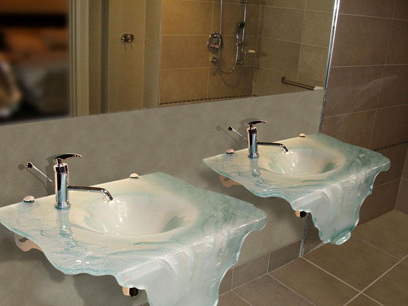 Recent Glass Sink Installation Showcase  CGD Glass