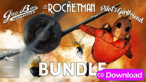 Download Daz3D – Rocket Bundle for DS Free