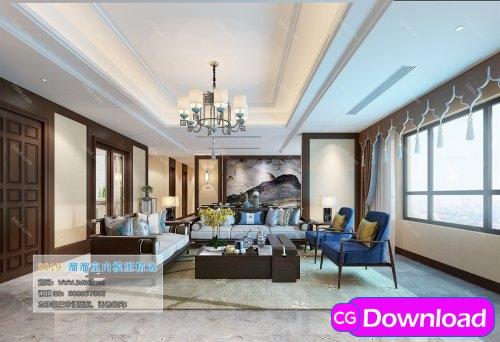 Download  Modern Style Livingroom 252 (2019) Free