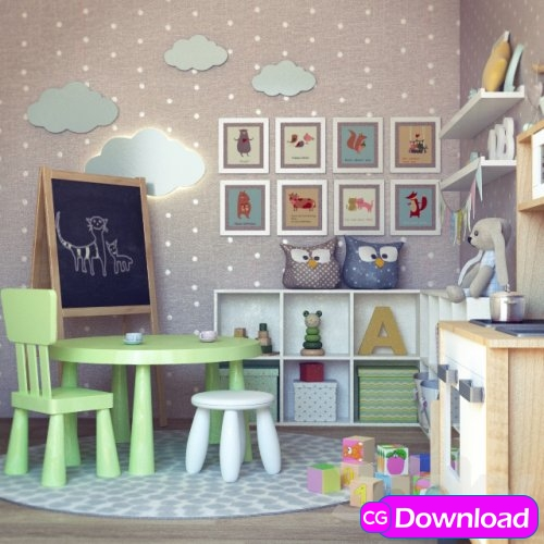 Download  Children (decor and furniture) Free
