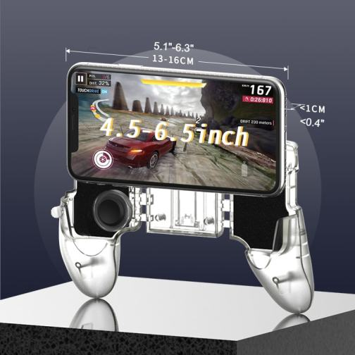 Integrated Handheld Mobile Game Controller 13