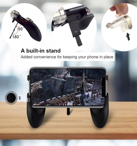 Integrated Handheld Mobile Game Controller 12