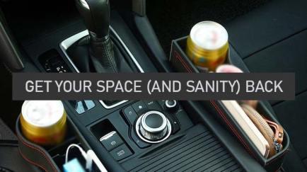 Multifunctional Car Seat Organizer 12