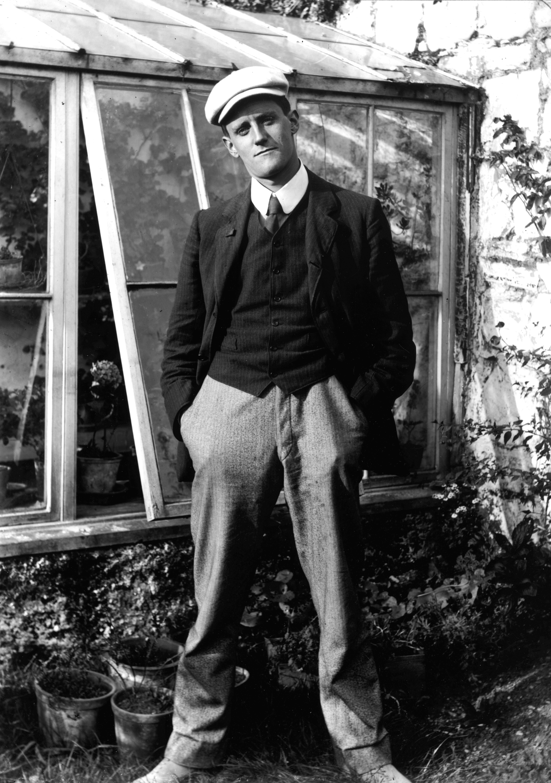 James Joyce, Irish Novelist (1882-1941)