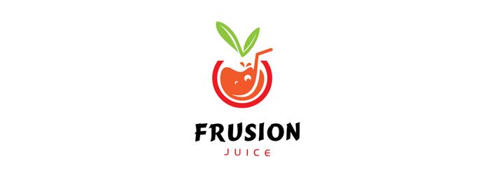 25 fruit logo design