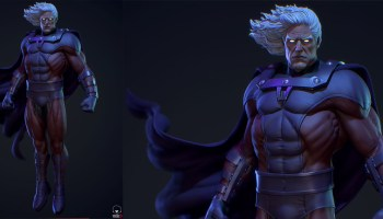 Magneto fanart in ZBrush and Substance Painter | CGHOW