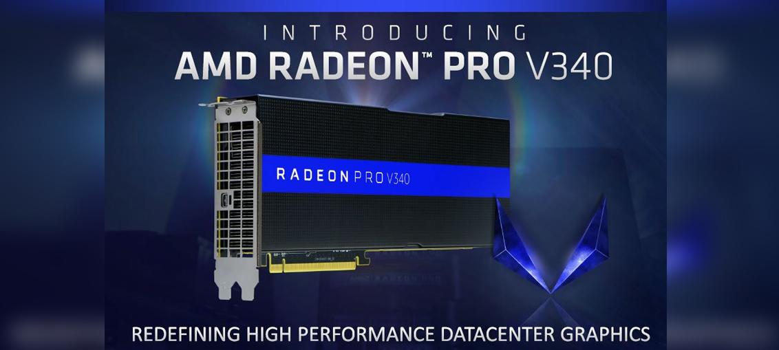 AMD unveils the Radeon Pro V340 | CGHOW