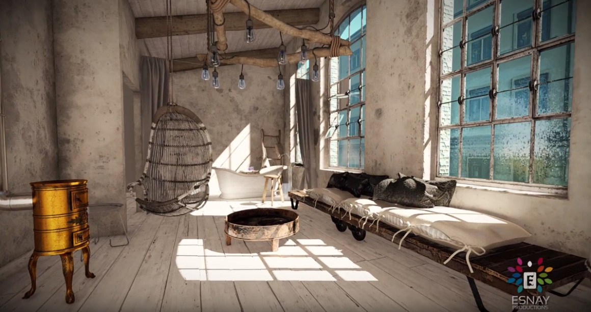 3D Interior Walkthrough Reel in Lumion