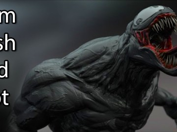 Venom - Zbrush Speed Sculpt