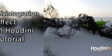 Disintegration effect in Houdini Tutorial