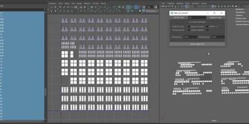 Optimise your Maya UV layouts with NPK_UV_Layout 1.0