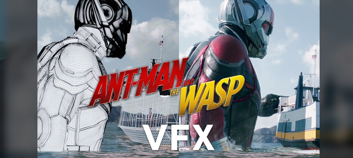 Ant-Man and the Wasp VFX | CGHOW