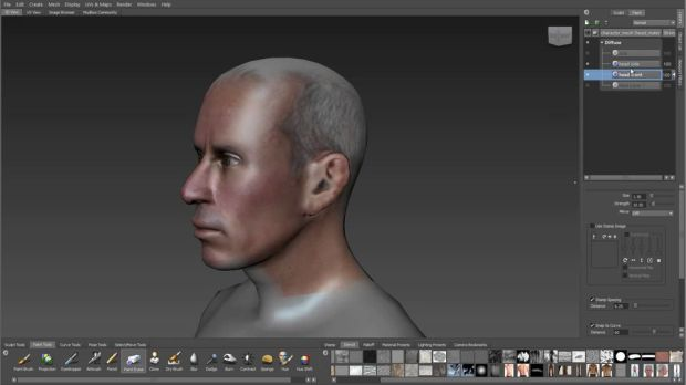 Creating Photorealistic Character Textures in Mudbox | CGHOW