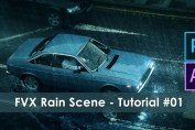 Creating Rain Scene – After Effects/Photoshop Tutorial