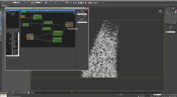 Creating a Mesh Reconstruction Effect Using Thinking Particles in 3DS Max