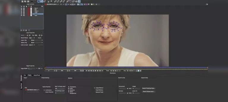 Digital Makeup & Age Techniques with Boris FX, mocha and After Effects