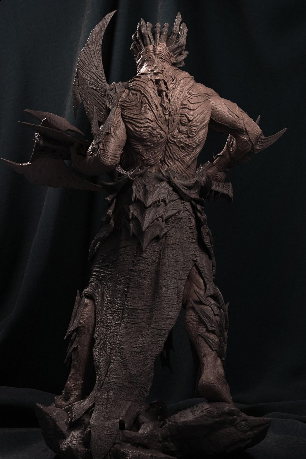 Faceless Demon by Berto Souza