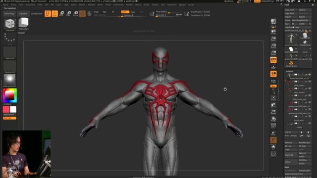 How Zbrush Helped Build Spider-Man With Insomniac Games