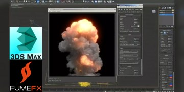 Large Scale Explosion Tutorial Using FumeFx 3