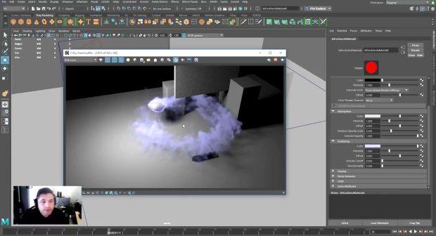 Maya Aero Smoke Tutorial   CGHOW