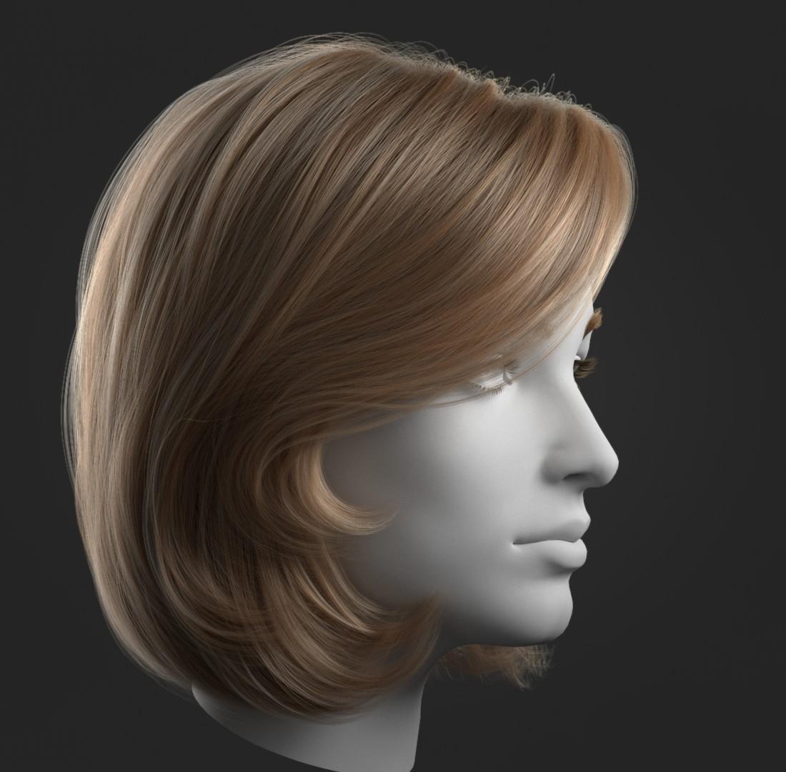 Ornatrix Girl Hair Test by Alexia Rubod