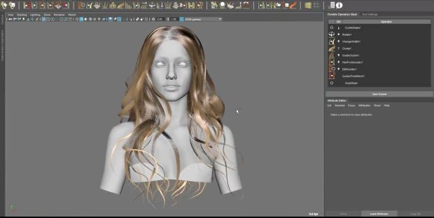 Ornatrix for maya | Creating Hair From Polygon Strips With Ornatrix
